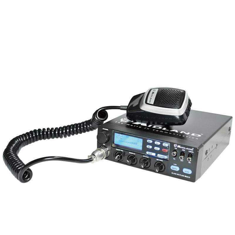 Statie Radio Cb Midland Alan 48 Multi Plus B Cod C422.15