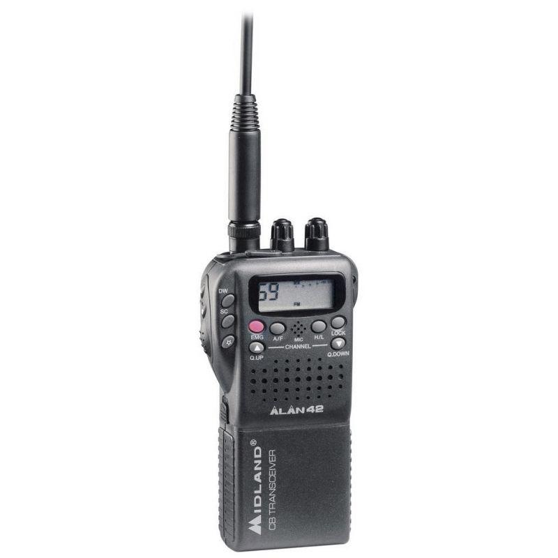 Statie Radio Cb Portabila Midland Alan 42 Multi Cod C480.17