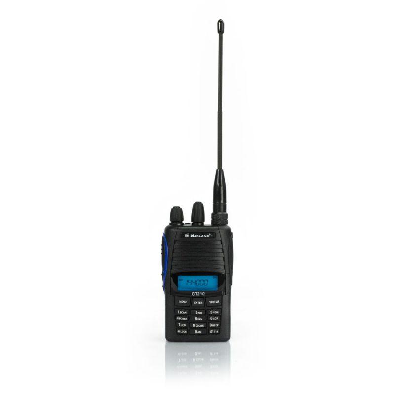 Statie Radio Vhf Portabila Midland Ct210 136-174mhz Cod C841.01