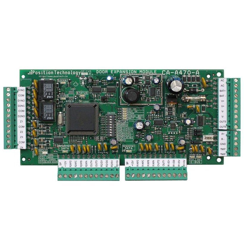 Modul de extensie pentru 2 usi CDVI CA-A470-A