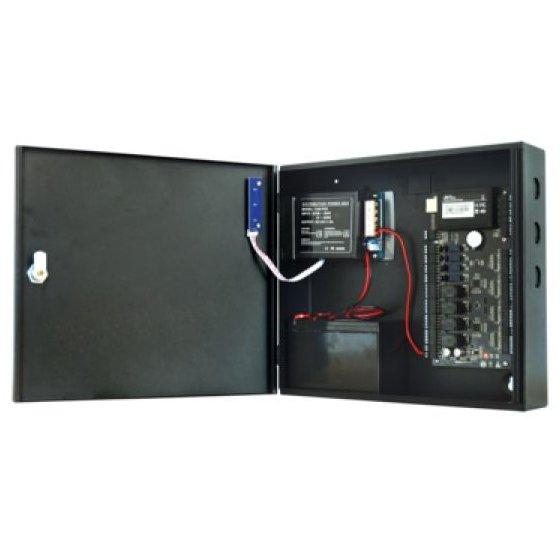Cabinet multifunctional ZKTeco CAB3-PS5 pentru centrale de control acces 12Vcc 5A backup