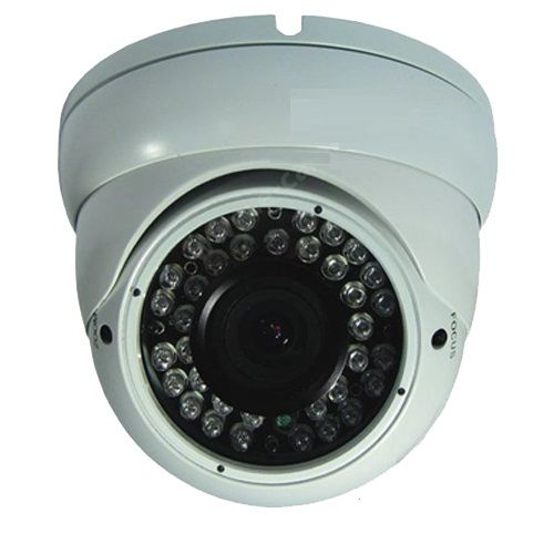 Camera Dome Color De Exterior 800tvl Cu Ir Kmw Km-150hw