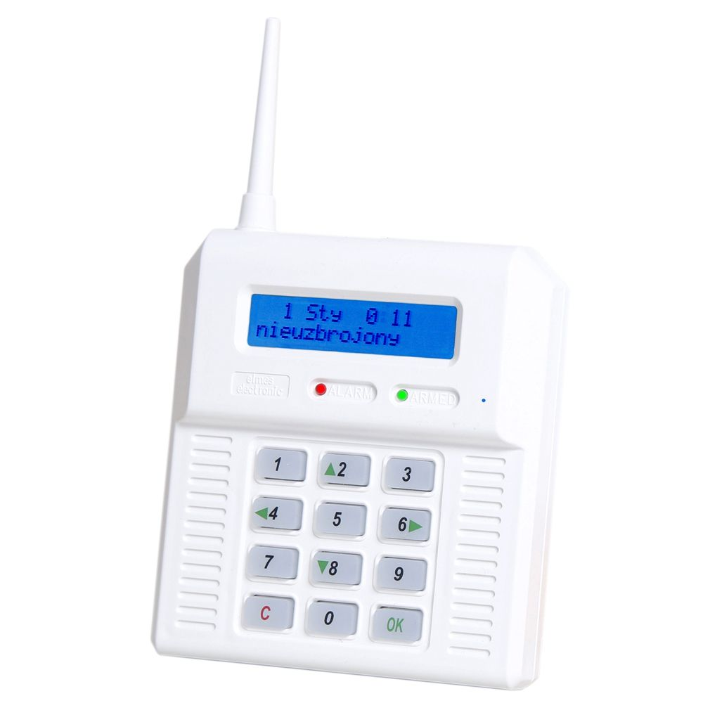 Centrala alarma wireless cu modul GSM incorporat Elmes CB32GN 256 evenimente memorate 32 zone wireless