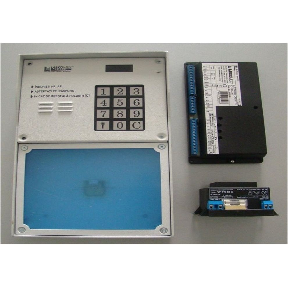 Centrala Digitala Cu Tastatura Antivandal Commax C