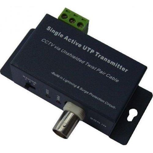 Video balun activ CM-BA1T Convertor BNC-UTP