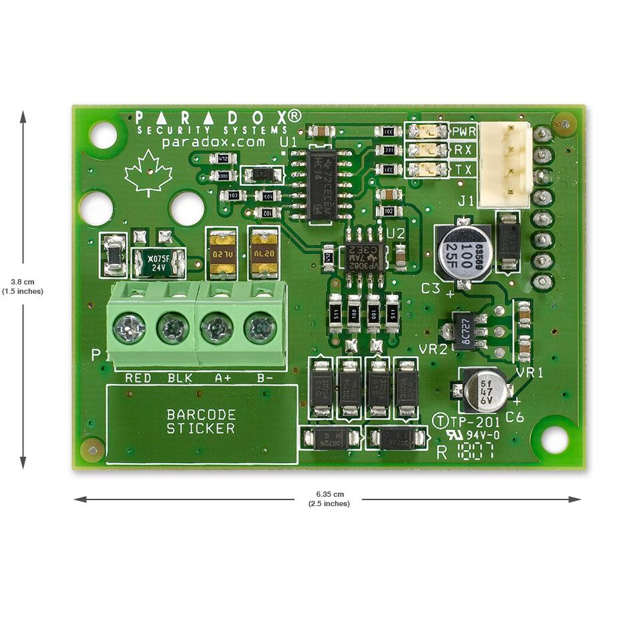 Convertor plug-in RS485 Paradox CVT485