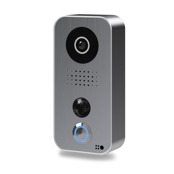 Post videointerfon IP DoorBird D101S de exterior standalone WiFi IP65 PIR pana la 8m audio bidirectional