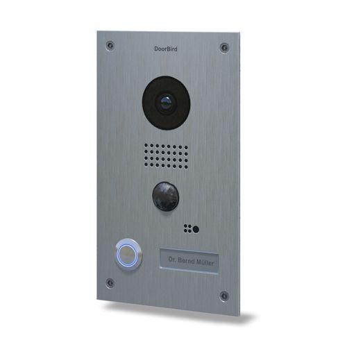 Post Videointerfon Ip Doorbird D202 De Exterior Standalone. Wifi. Ip65. Pir Pana La 8m. Audio Bidirectional. Poe