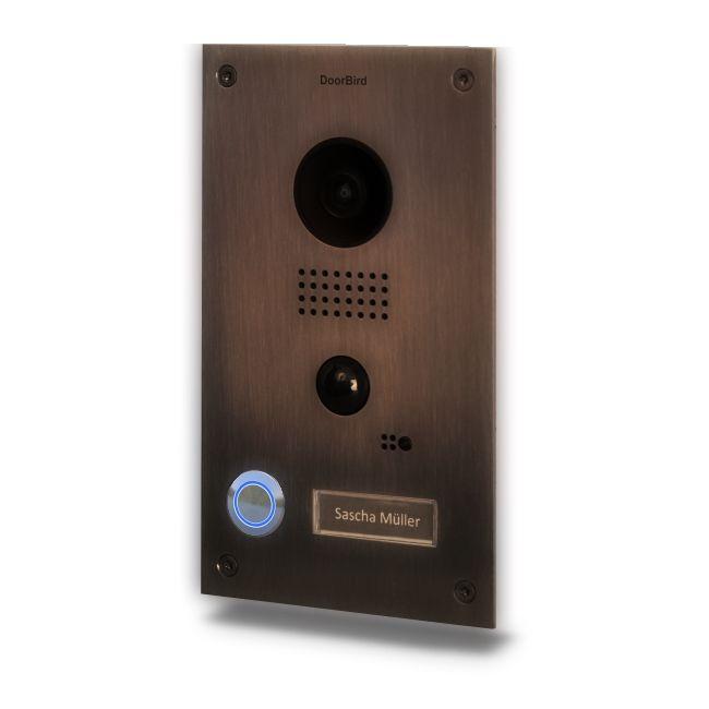Post Videointerfon Ip Doorbird D202bb De Exterior Standalone Din Otel Galvanizat. Wifi. Ip65. Pir Pana La 8m. Audio Bidirectional. Senzor De Lumina. P