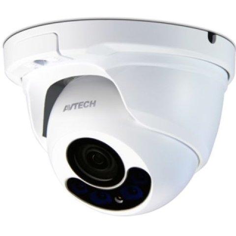 Camera Dome Avtech Dgc1304 Tvi. 2mp. Lentila Varif