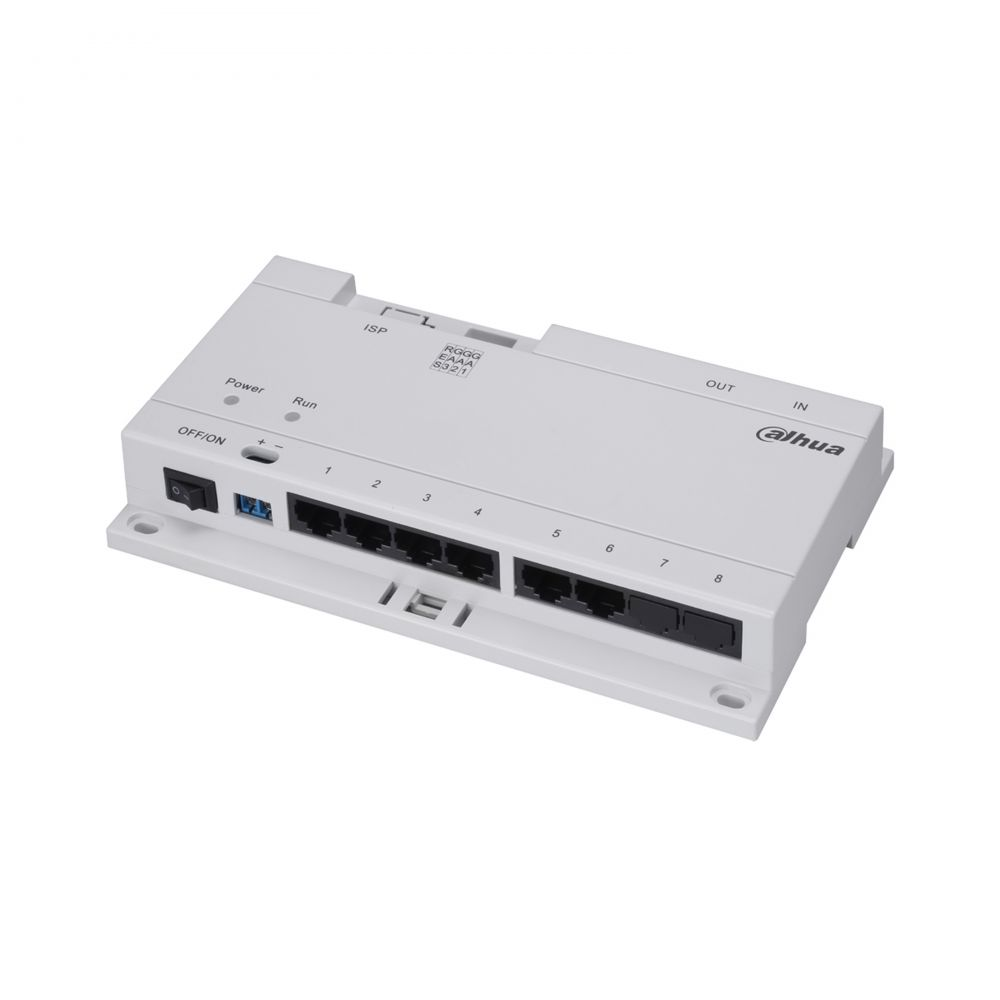 Imagine Distribuitor Poe 8 Porturi Dahua Dh-vtns1060a