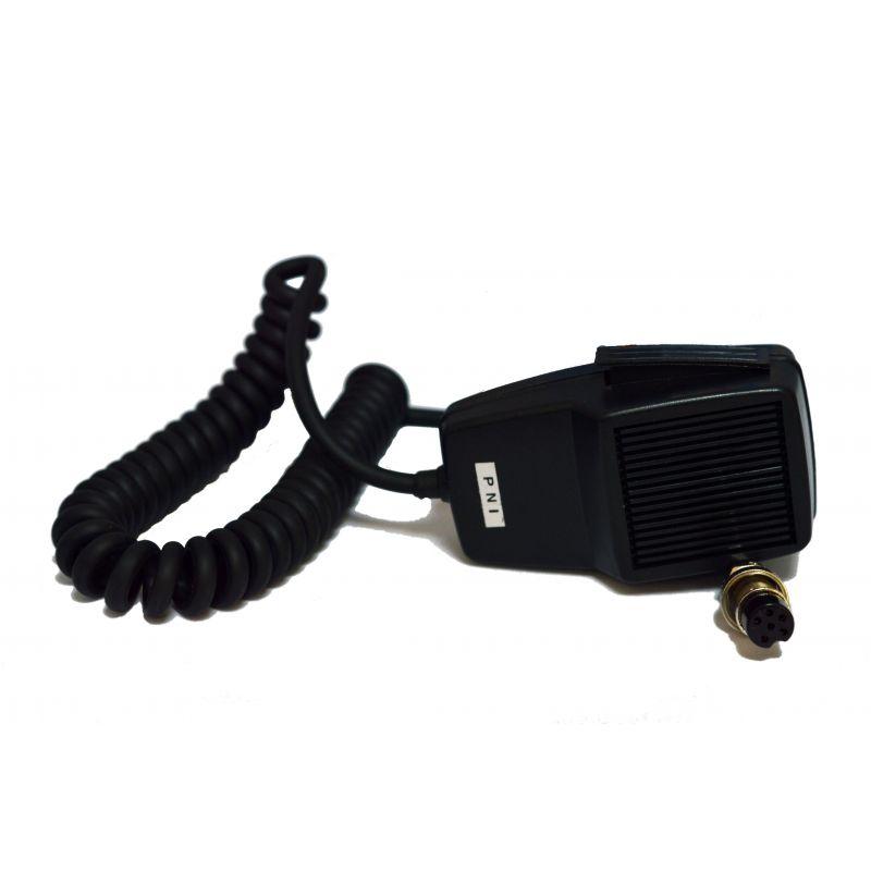 Microfon Pni Dinamic Cu 6 Pini Pentru Statie Radio Cb