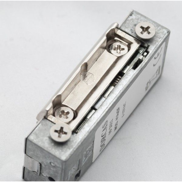 Yala electromagnetica incastrabila DORCAS-41AaDF ajustabila reversibila 12V NO