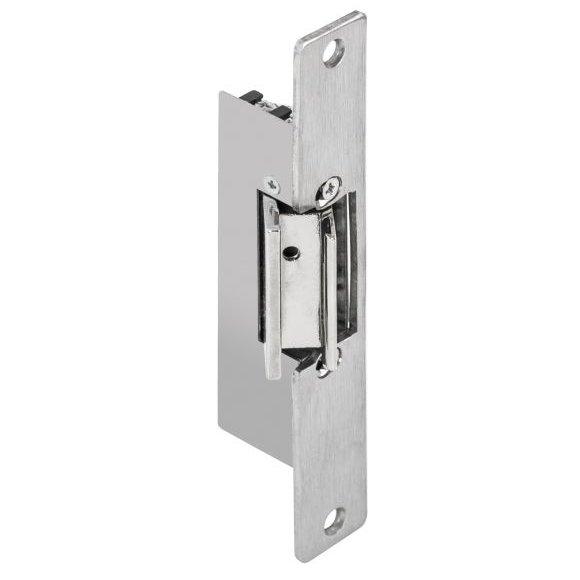 Yala electromagnetica incastrabila DORCAS-87N512(S) pentru usi de sticla fail safe 12Vcc