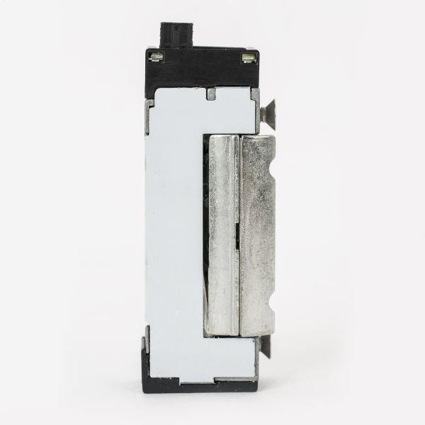 Incuietoare electromagnetica DORCAS-99NF-412-PRE incastrabila pentru usi cu deschidere sub presiune ajustabila 12/24Vcc