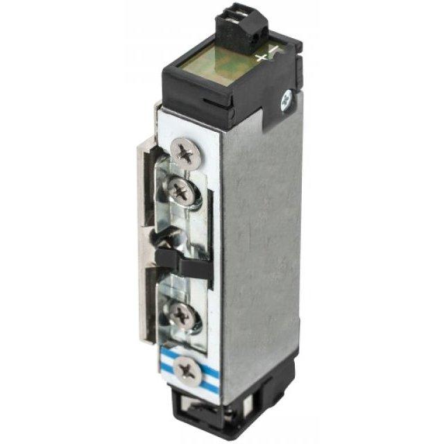 Incuietoare electromagnetica DORCAS-99NF305-412-PRE incastrabila pentru usi cu deschidere sub presiune fail secure monitorizare