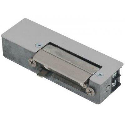 Yala electromagnetica incastrabila DORCAS-AaDF cu buton deblocare functionare in puls reversibila 8-12V