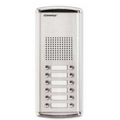 Post Exterior Interfon Pentru 12 Familii Commax Dr-12am