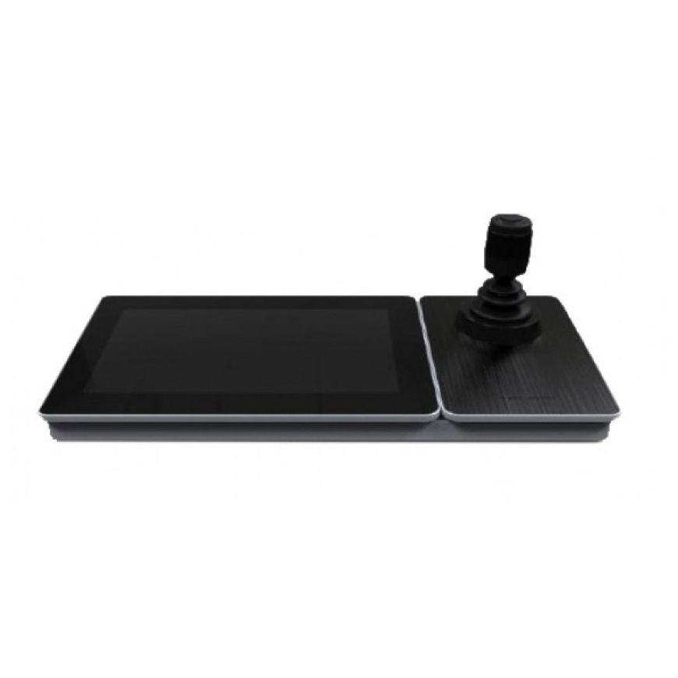 Tastatura de control pentru IP speed dome Hikvision DS-1600KI cu TouchScreen LCD incorporat WiFi PoE