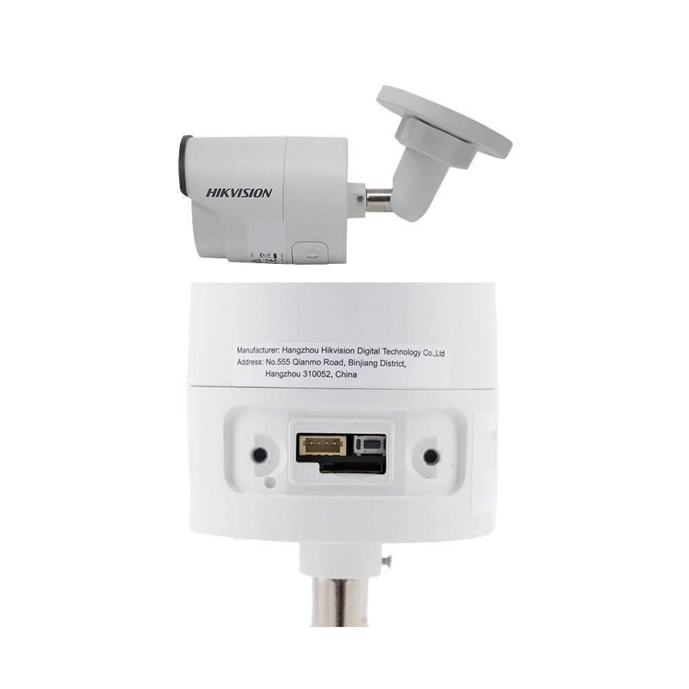 Camera bullet IP Hikvision DS-2CD2063G0-I 6MP 2.8mm IR 30m IP67 slot microSD H.265 WDR 120dB PoE