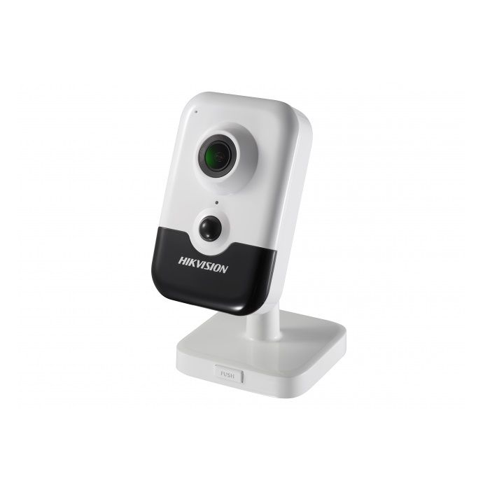 Camera IP Wireless Hikvision DS-2CD2443G0-IW 4MP 2.8mm microfon si difuzor incorporate IR 10m slot microSD PoE senzor PIR