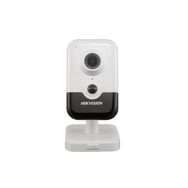Camera cube IP Hikvision DS-2CD2455FWD-I 5MP 2.8mm microSD microfon si difuzor integrate PIR IR 10m PoE