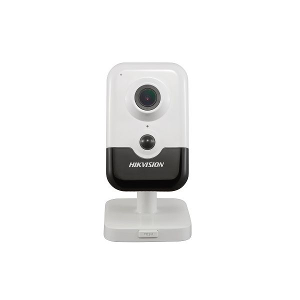 Camera cube IP Hikvision DS-2CD2455FWD-IW 5MP 2.8mm Wi-Fi microSD microfon si difuzor integrate PIR IR 10m PoE