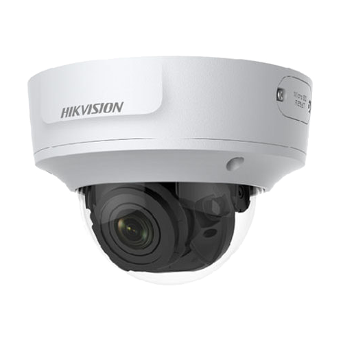 Camera dome IP Acusense Hikvision DS-2CD2746G1-IZS 4MP varifocala motorizata 2.8-12mm IP67 IK10 WDR 120dB PoE slot card intrare audio