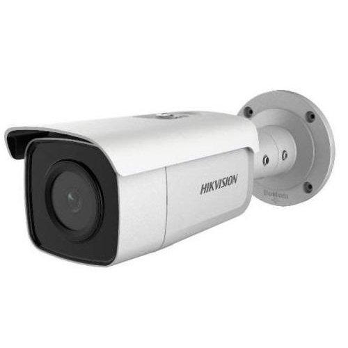Camera de supraveghere IP AcuSense 4 megapixel Bullet HIKVISION DS-2CD2T46G1-4I lentila 2.8mm
