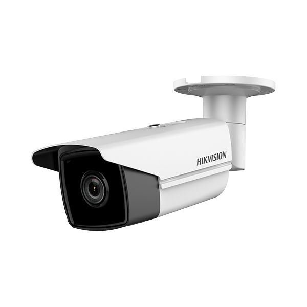 Imagine Camera Bullet Ip Hikvision Ds-2cd2t63g0-i5 6mp 2.8mm Ir 50m Ip67 Slot Microsd Wdr 120db Poe