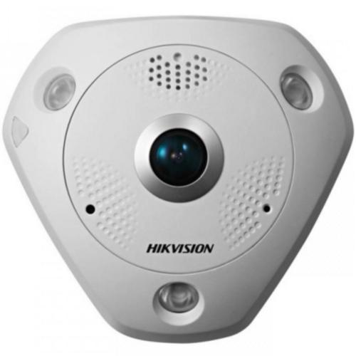 Camera Ip 6megapixel Fisheye. Ir 10m Hikvision Ds-