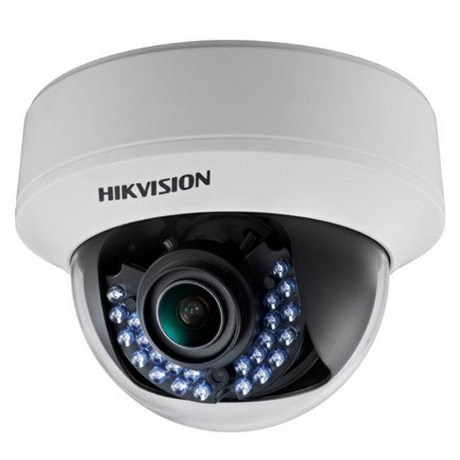 Camera Turbo HD Hikvision DS-2CE56D1T-AVFIR 1080p lentila varifocala 2.8-12mm Smart IR 30m