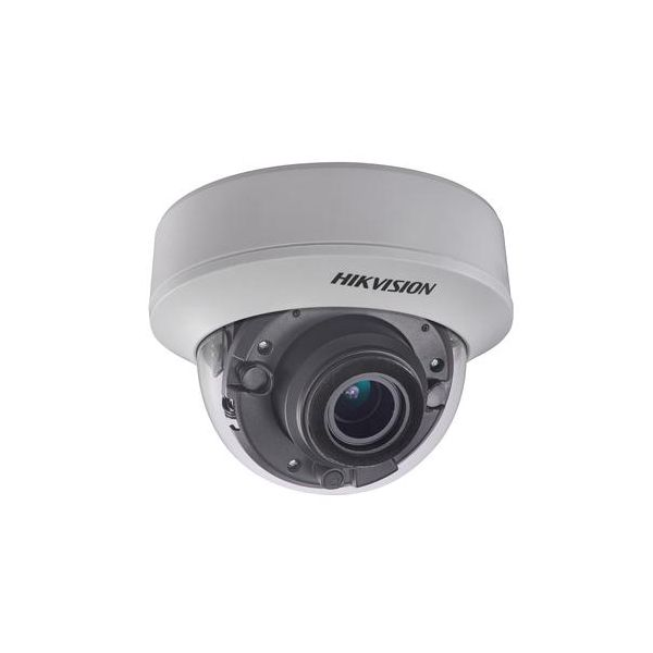 Camera dome Turbo HD Hikvision DS-2CE56D7T-AITZ 1080p lentila varifocala motorizata 2.8-12mm Smart IR EXIR 30m IP66 WDR 120dB