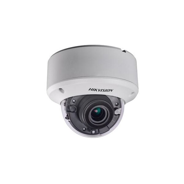 Camera dome antivandal Turbo HD Hikvision DS-2CE56D7T-VPIT3Z 1080p lentila varifocala motorizata 2.8-12mm IR 40m IP66 IK100 WDR 120dB