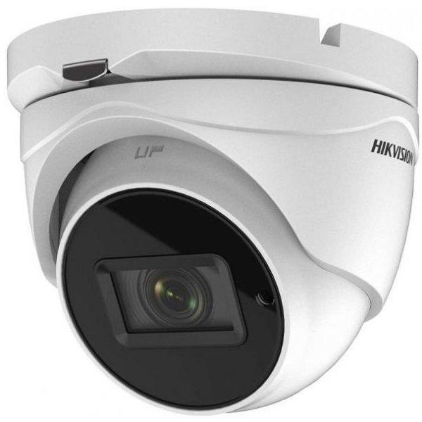 Camera dome Turbo HD Hikvision DS-2CE56H1T-IT3ZE 5MP varifocala motorizata 2.8-12mm IP67 IR EXIR 40m PoC
