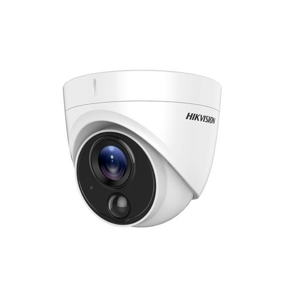 Camera dome Turbo HD Hikvision DS-2CE71D8T-PIRL 2MP 2.8mm IR 20m IP67 WDR 120dB senzor PIR integrat