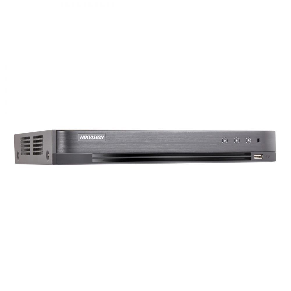 DVR 4 canale Turbo HD 4.0 Hikvision DS-7204HTHI-K1 4K H.265+ ONVIF 4 intrari alarma