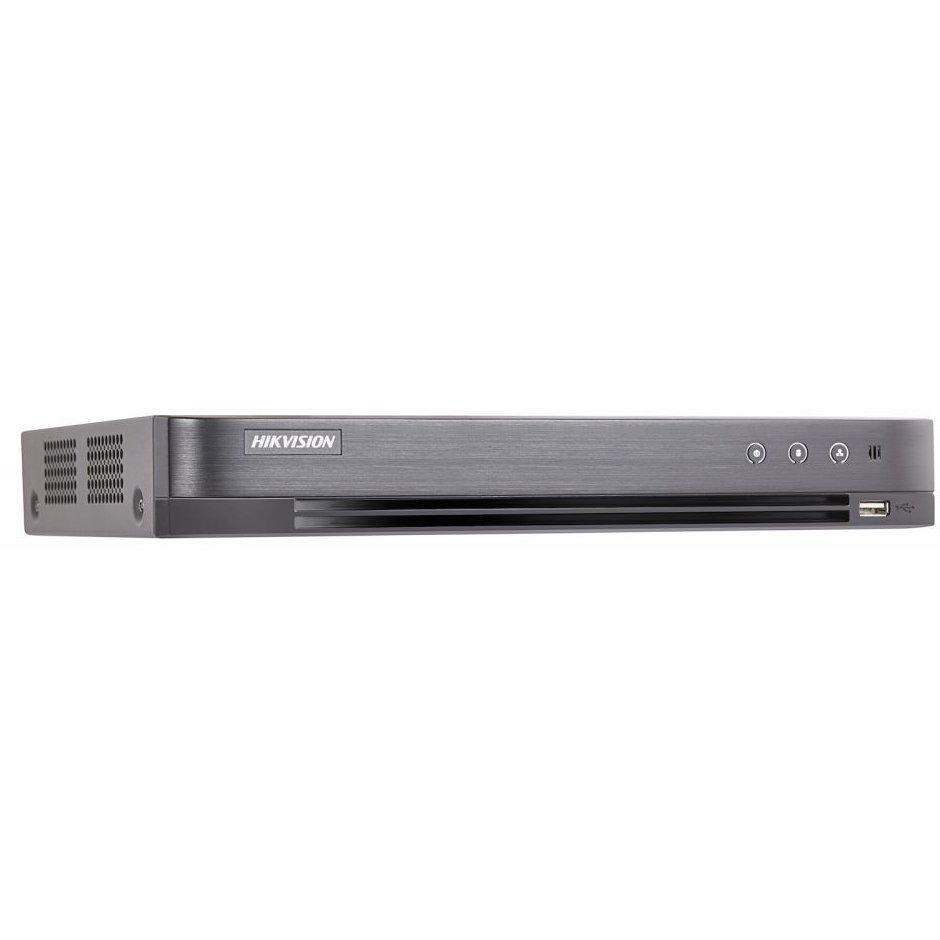 DVR 16 canale Turbo HD 4.0 Hikvision DS-7216HUHI-K2/P UltraHD H.265+ 2xSATA PoC