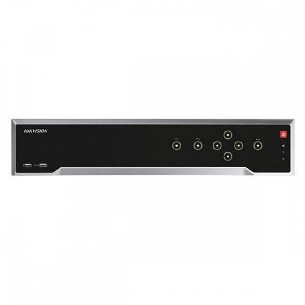 NVR 4k panou frontal cu touch 16 canale + 16 POE Hikvision DS-7716NI-I4/16P
