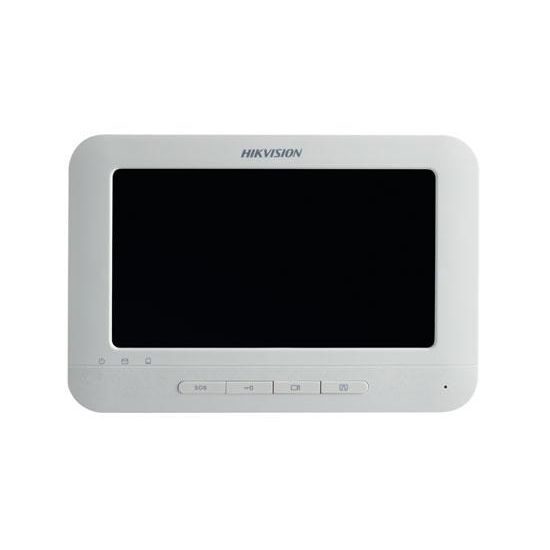 Monitor Videointerfon Color Hikvision Ds-kh6210-l ; Ecran Lcd 7 Cu Butoane ; 7 Screen Indoor Station. Physical Push Button.
