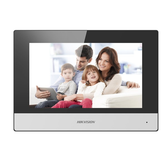 Imagine Monitor Videointerfon Modular 7inch Color Hikvision Ds-kh6320-te1; Ecran Lcd Cu