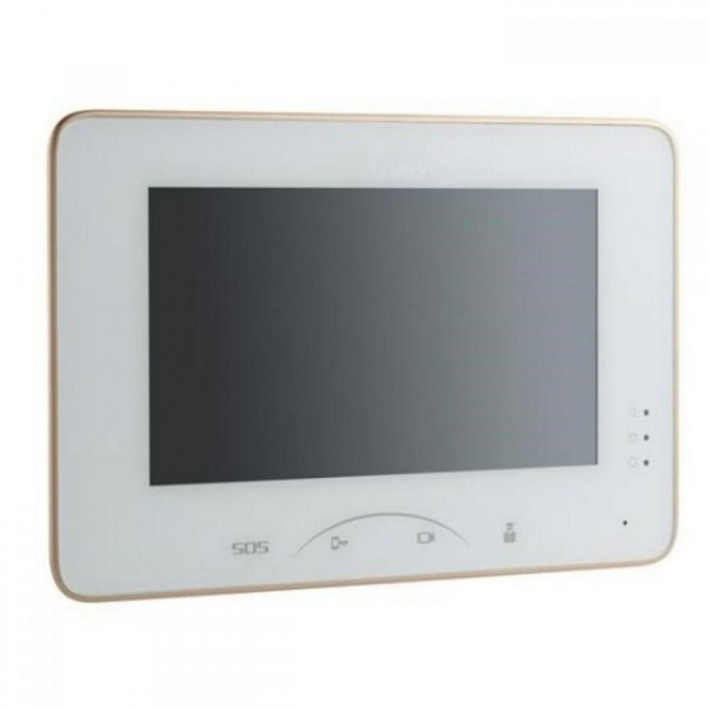 Monitor Videointerfon Color Hikvision Ds-kh8300-t 7-inch Colorful Tft Lcd Capacitive Touch Screen Touch Key Display Resolution: