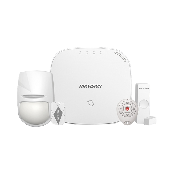 Kit alarma Wireless Hikvision DS-PWA32-KGT 433Mhz comunicare 800m in camp deschis GPRS