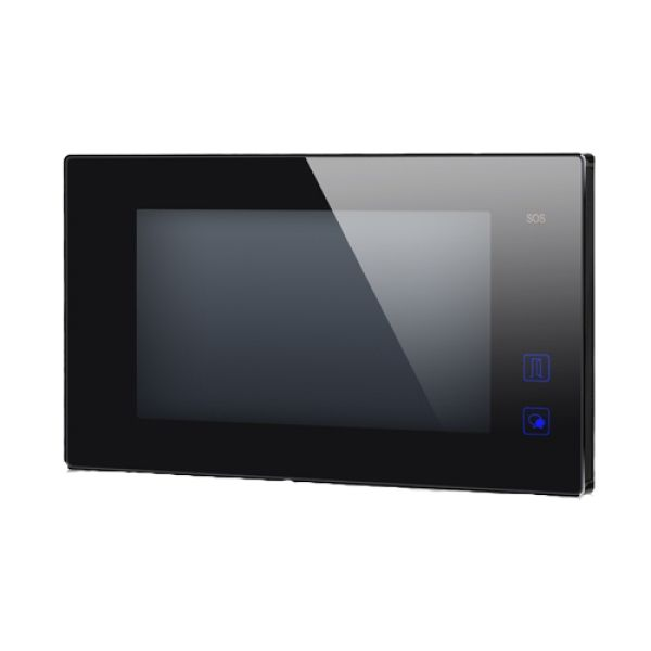 Post de interior video DT47MG-TD7-bk conexiune pe 2 fire si ecran color LCD de 7