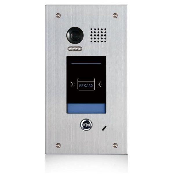Post exterior videointerfon DT601F-ID-FE 2MP cititor de proximitate conexiune pe 2 fire