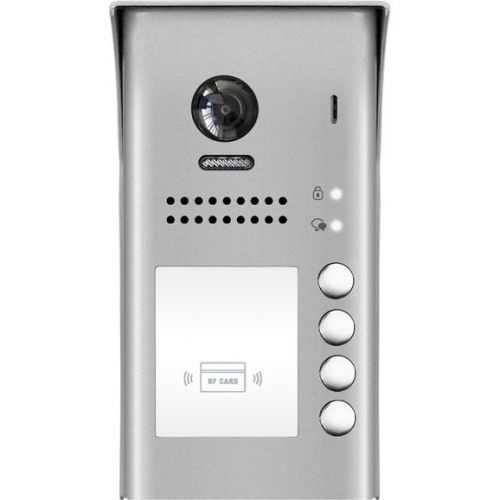 Post exterior DT607 cu cititor ID si camera V-TECH DT607/ID/FE-S4 cu 4 butoane