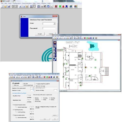 Accesoriu detectie incendiu Cofem Software programare EASY CoNET EASYCoNET