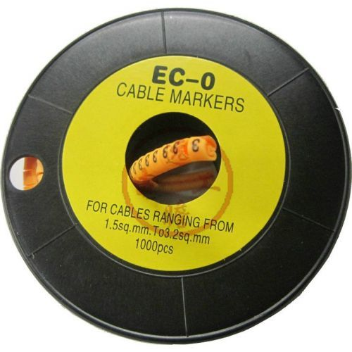 Accesoriu supraveghere PXW Rola marcare cablu de 3 - 5.2mm EC-1MARK