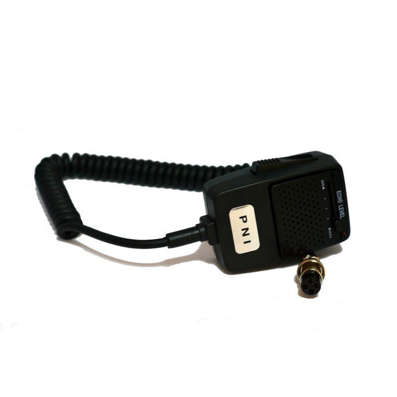 Microfon Cu Ecou Pni Echo 4 Pini Pentru Statie Radio Cb