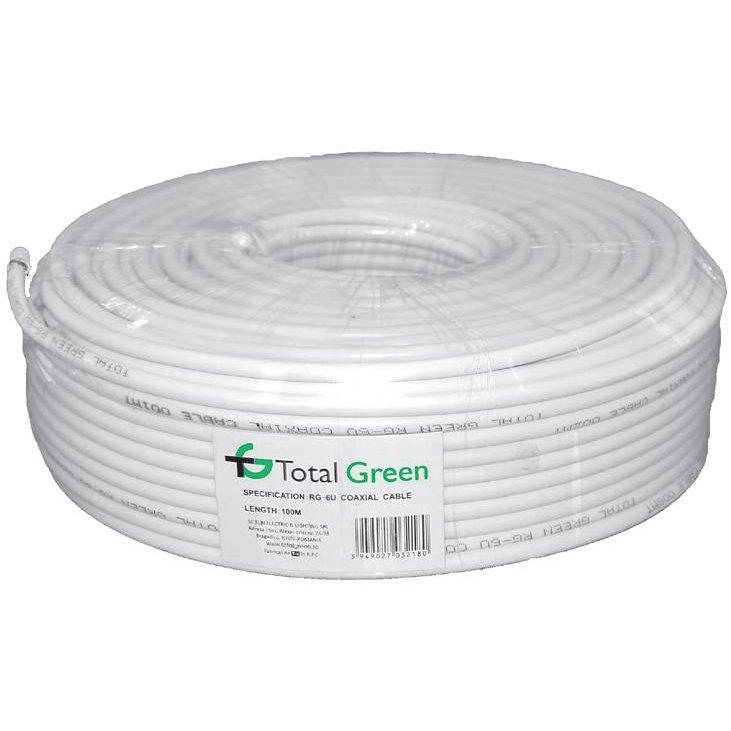 Cablu Coaxial Rg6u Tip1 (hq) Total Green El0017643